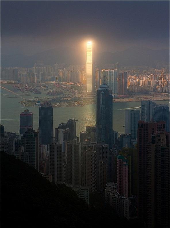 hong kong lights