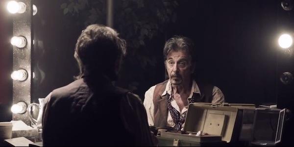 "Pacino in ""The Humbling"""